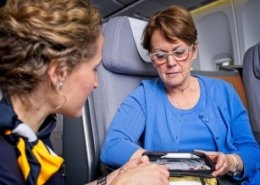 Lufthansa equips long-haul aircraft with mobile ECG system