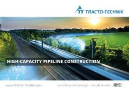 Trenchless solutions for high-capacity pipeline construction