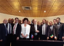 Franco-Ethiopian agreements signed on space cooperation and economic cooperation
