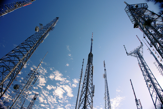 wireless towers andrewfhart FLICKR