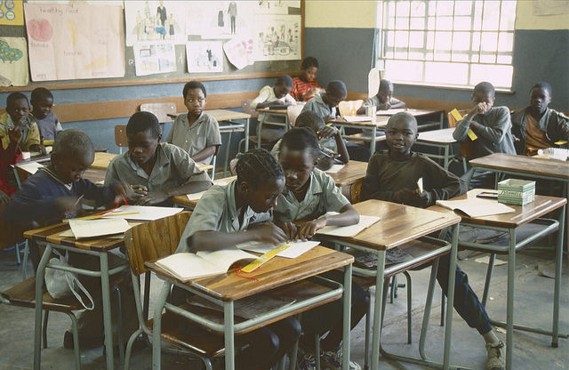 African students classroom PatrikMLoeff