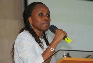 Nigeria's minister of communication technology, Omobola Johnson. (Image source: Ministry of Communication Technology, Nigeria)