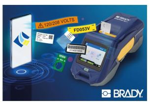 Easily print your labels from any smartphone with the BradyPrinter M611