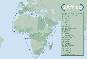 2Africa subsea cable to boost Internet connectivity across Africa